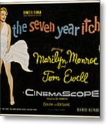 The Seven Year Itch Metal Print by Georgia Fowler