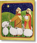 The Shepherds Metal Print by Linda Benton