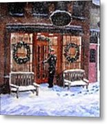 The Shiver And Shake Watch On Christmas Eve Metal Print by Jack Skinner