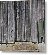 The Side Door Metal Print by Skip Willits
