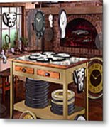 The Soft Clock Shop 2 Metal Print by Mike McGlothlen