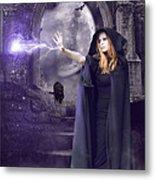The Spell Is Cast Metal Print by Linda Lees
