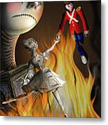 The Steadfast Tin Soldier ...the Envy... Metal Print by Alessandro Della Pietra
