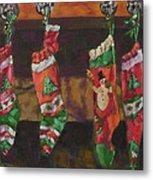 The Stockings Metal Print by Gloria  Nilsson