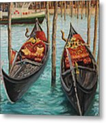 The Symbols Of Venice Metal Print by Kiril Stanchev