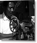 The Tailor - Tanzania Metal Print by Aidan Moran
