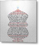 The Ten Commandments Metal Print by Emanuel Asante Jr