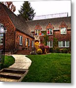 The Tke House On The Wsu Campus Metal Print by David Patterson