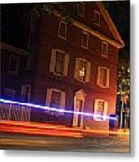 The Todd House Philadelphia Metal Print by Christopher Woods