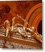 The Tombs At Les Invalides - Paris France - 011319 Metal Print by DC Photographer