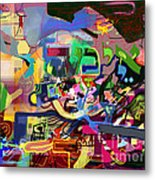 the Torah is aquired with awe 5 Metal Print by David Baruch Wolk