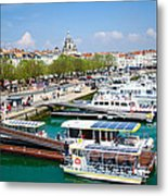 The Town And Port Of La Rochelle Metal Print by Nila Newsom