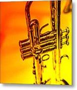 The Trumpet Metal Print by Karol Livote