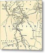 The Upper Nile Metal Print by English School