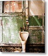 The Urinal Metal Print by Gary Heller