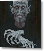 The Vampire Metal Print by Wave