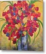 The Vase Metal Print by Molly Roberts