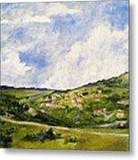 The Walk Down Horsetooth Mountain Metal Print by Maureen Carrigan