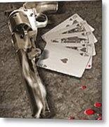 The Way Of The Gun 2 Metal Print by Mike McGlothlen
