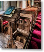 The Welsh Bible Metal Print by Adrian Evans