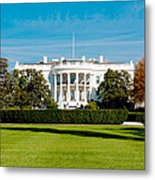 The White House Metal Print by Greg Fortier