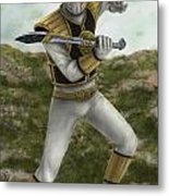 The White Ranger Metal Print by Michael Tiscareno
