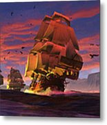 The Winds Of Triton Metal Print by Dieter Carlton