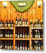 The Wine Cellar Metal Print by Frozen in Time Fine Art Photography