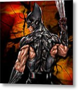 The Wolverine Metal Print by Pete Tapang