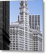 The Wrigley - A Building That Is Pure Chicago Metal Print by Christine Till
