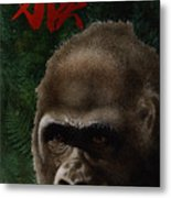 The Year Of The Monkey... Metal Print by Will Bullas