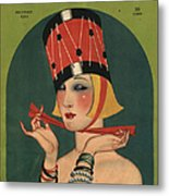Theatre 1923 1920s Usa Magazines Art Metal Print by The Advertising Archives