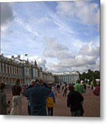 They Come To Catherine Palace - St. Petersburg - Russia Metal Print by Madeline Ellis