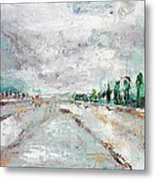 Thinking About Winter In Summer Time 1 Metal Print by Becky Kim