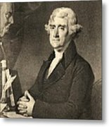 Thomas Jefferson Metal Print by American School