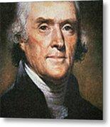 Thomas Jefferson Metal Print by Rembrandt Peale