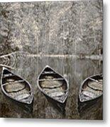 Three Metal Print by Debra and Dave Vanderlaan
