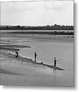 The Banks Of The Somme Metal Print by Aidan Moran