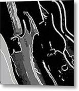 Three Guitars Metal Print by Toppart Sweden