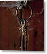 Three Keys Metal Print by Georgia Fowler