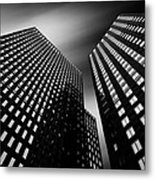 Three Towers Metal Print by Dave Bowman