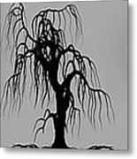 Three Trees Metal Print by Bob Orsillo