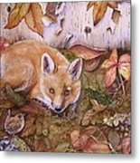 Three's A Crowd Metal Print by Patricia Pushaw