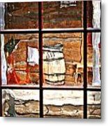Through The Window Metal Print by Marty Koch