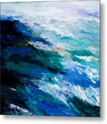 Thunder Tide Metal Print by Larry Martin