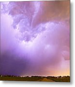 Thunderstorm Tidal Wave Metal Print by James BO  Insogna