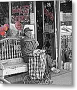 Tickled Pink Metal Print by Bartz Johnson