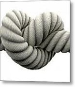 Tie The Knot Metal Print by Allan Swart