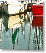 Tiffany Sailed From San Francisco To Moss Landing Metal Print by Artist and Photographer Laura Wrede