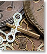 Time Deconstructed Metal Print by Tom Gari Gallery-Three-Photography